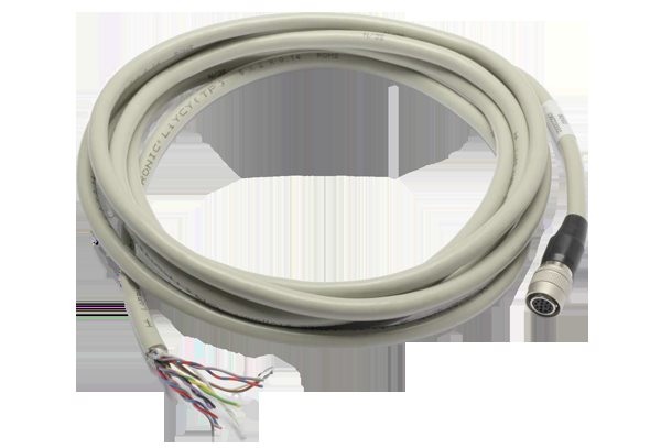 The Basler 2000022907 Power-I/O Cable, HRS 12p, open, twisted 3 m Cable Accessory