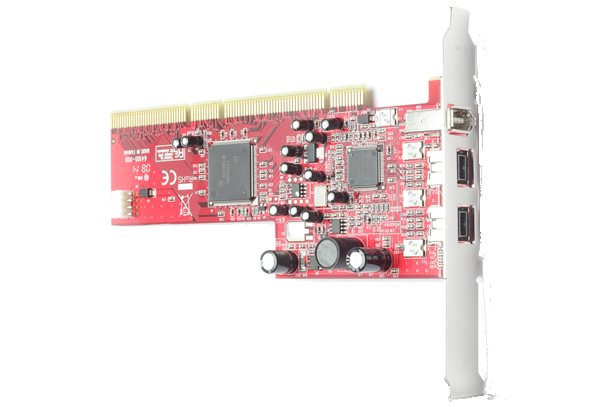 Basler 1394a 3-Port PCl Card (TI single)