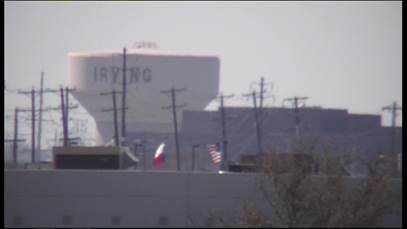 IV-75X-EH6500: High zoom, Irving, TX Water Tower Distance Test
