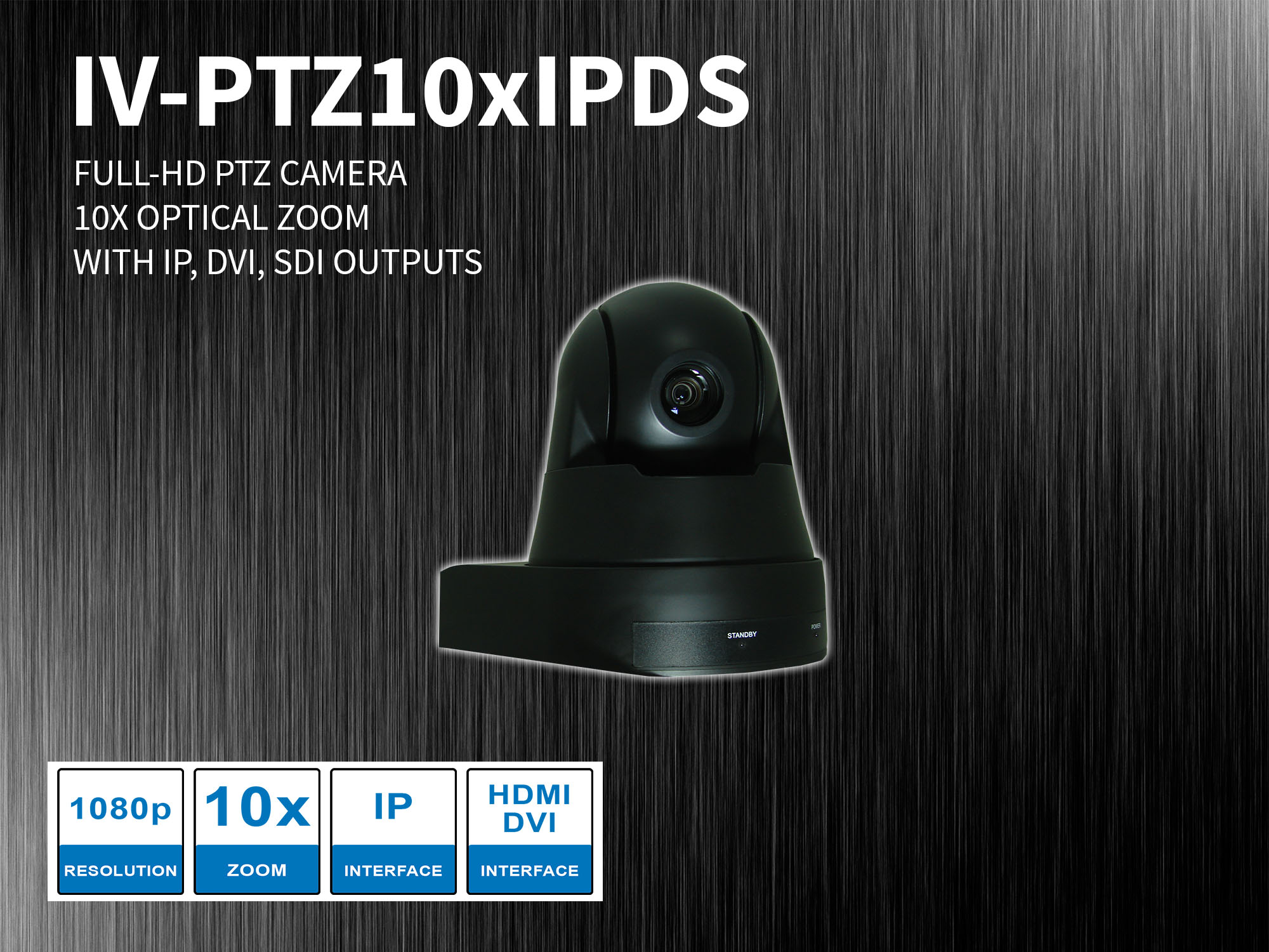 IV-PTZ10xIPDS HD PTZ camera