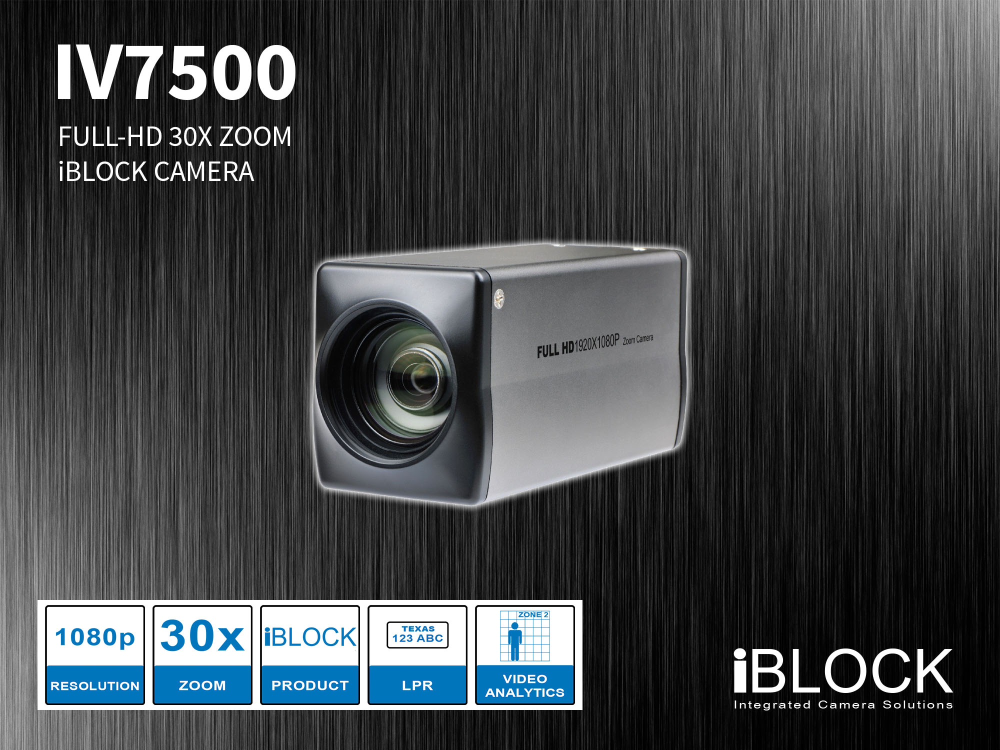 30x Optical Zoom HD Camera