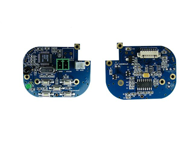 ivctrl-bd is a RS485 accessory for the ivsdi-12 interfaces. IR Remote control & push button OSD