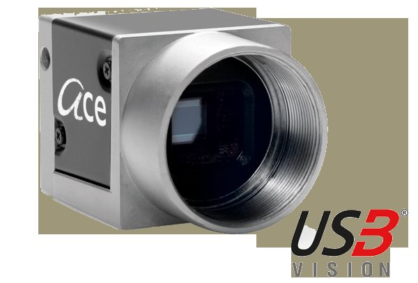 Basler Ace USB3 Vision 1920 x 1200 , 155 fps, color